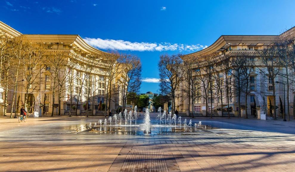 Najpiękniejsze miasta Francji Montpellier